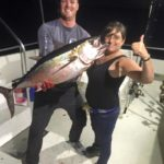 couple on fishing charter florida